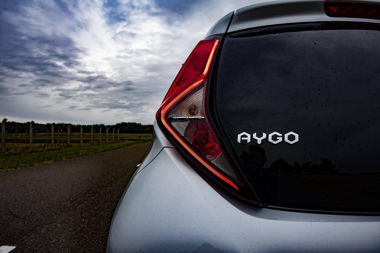 Małe auta miejskie używane - Toyota Aygo