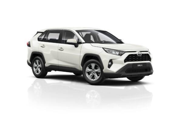 Toyota RAV 4 Biała