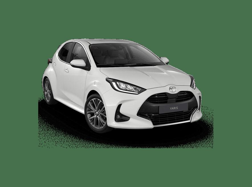 Toyota Yaris Pure White