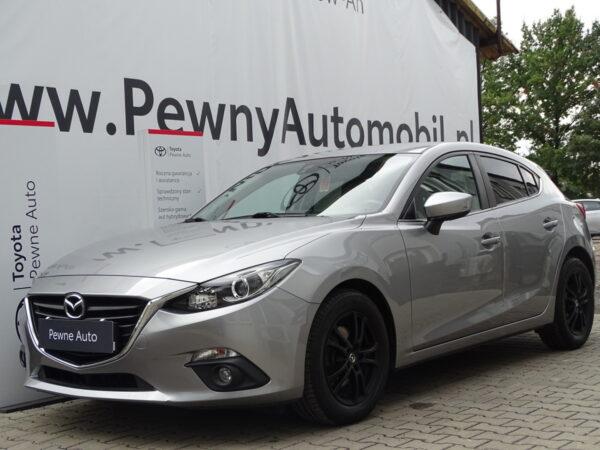Mazda 3 2015 2.0 Skyenergy 120 KM SKYACTIVE I właściciel Bezwypadkowy FV23%